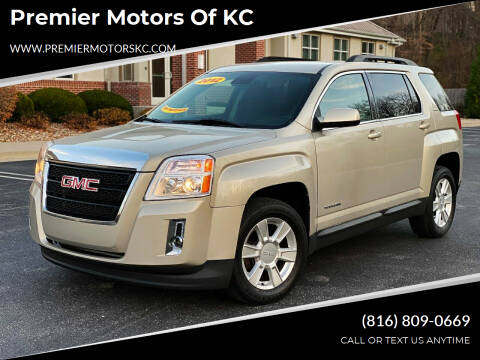 2012 GMC Terrain for sale at Premier Motors of KC in Kansas City MO
