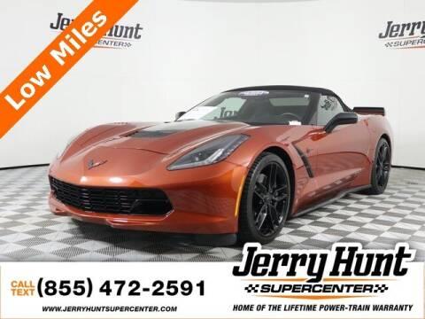 2016 Chevrolet Corvette for sale at Jerry Hunt Supercenter in Lexington NC