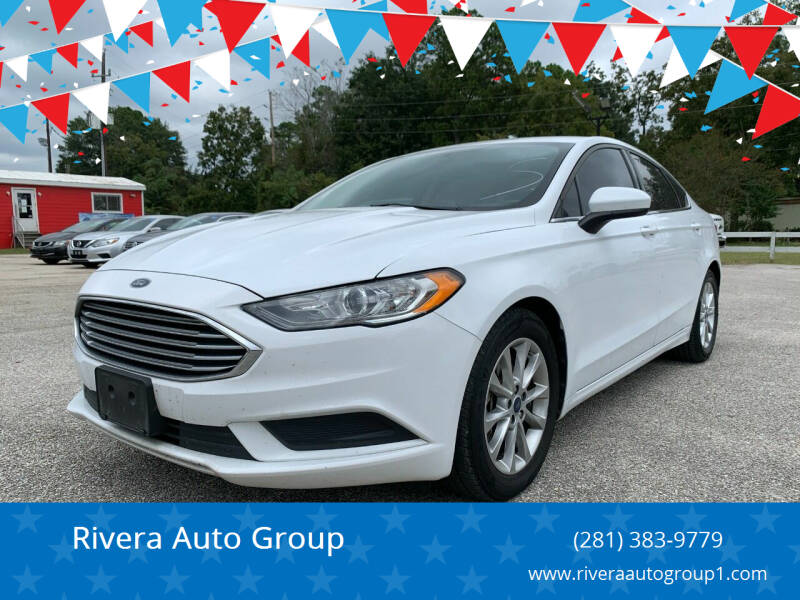 2017 Ford Fusion for sale at Rivera Auto Group in Spring TX