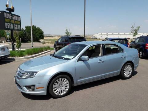 2011 Ford Fusion Hybrid for sale at More-Skinny Used Cars in Pueblo CO