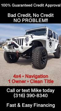 2018 Jeep Wrangler JK Unlimited for sale at Affordable Mobility Solutions, LLC - Standard Vehicles in Wichita KS