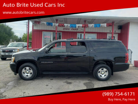 2008 Chevrolet Suburban for sale at Auto Brite Used Cars Inc in Saginaw MI