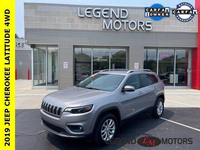 2019 Jeep Cherokee for sale at Legend Motors of Waterford in Waterford MI