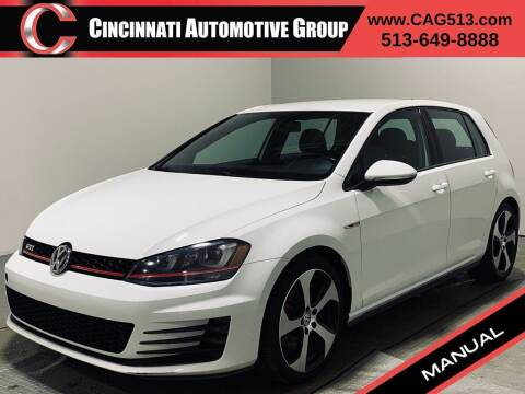 2015 Volkswagen Golf GTI for sale at Cincinnati Automotive Group in Lebanon OH