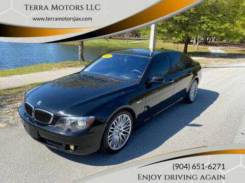 2007 BMW 7 Series for sale at Terra Motors LLC in Jacksonville FL