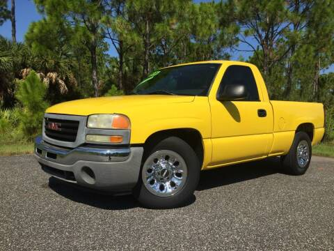 2006 GMC Sierra 1500 for sale at VICTORY LANE AUTO SALES in Port Richey FL