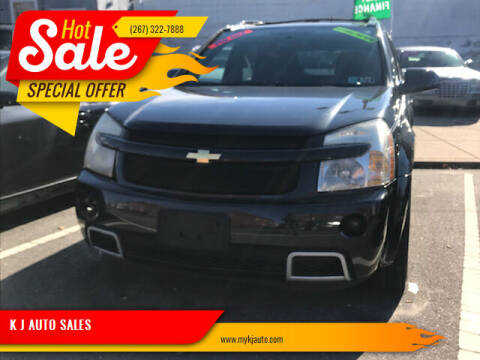 2008 Chevrolet Equinox for sale at K J AUTO SALES in Philadelphia PA