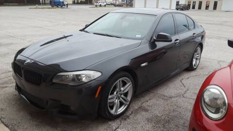 2012 BMW 5 Series for sale at RICKY'S AUTOPLEX in San Antonio TX