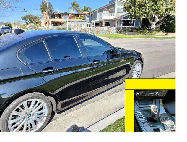 2011 BMW 5 Series for sale at DNZ Auto Sales in Costa Mesa CA