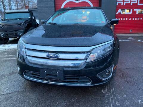 2010 Ford Fusion Hybrid for sale at Apple Auto Sales Inc in Camillus NY