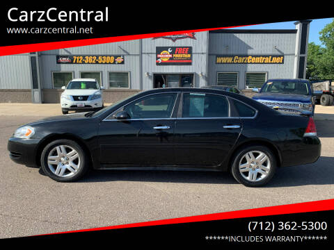 2010 Chevrolet Impala for sale at CarzCentral in Estherville IA