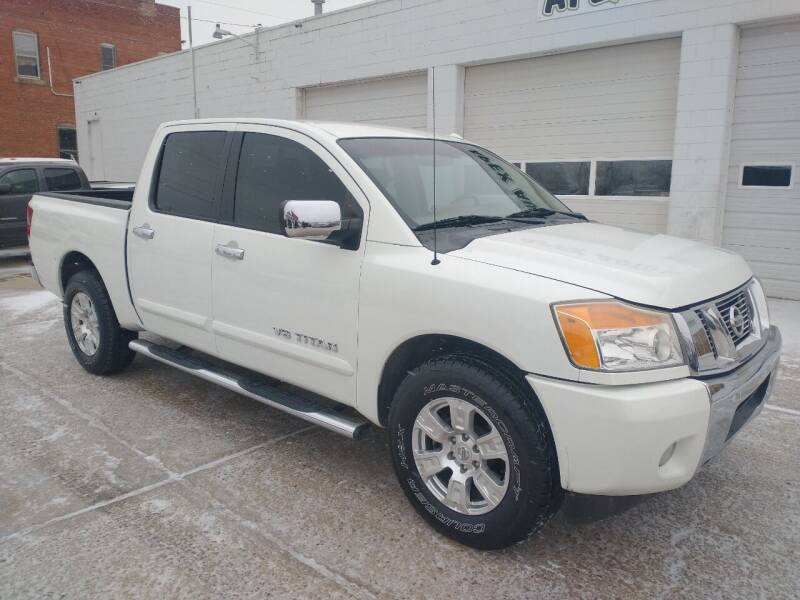 2013 Nissan Titan for sale at Apex Auto Sales in Coldwater KS