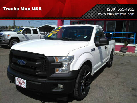 2017 Ford F-150 for sale at Trucks Max USA in Manteca CA