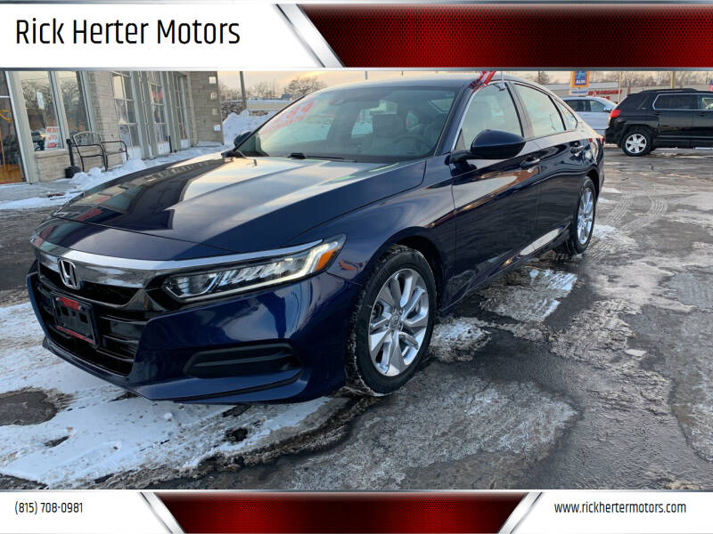 2019 Honda Accord for sale at Rick Herter Motors in Loves Park IL