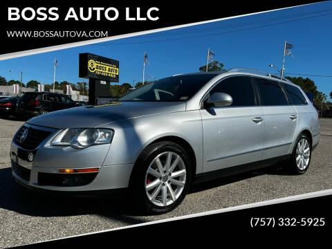 2010 Volkswagen Passat for sale at BOSS AUTO LLC in Norfolk VA