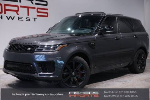 2018 Land Rover Range Rover Sport for sale at Fishers Imports in Fishers IN