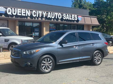 2013 Infiniti JX35 for sale at Queen City Auto Sales in Charlotte NC