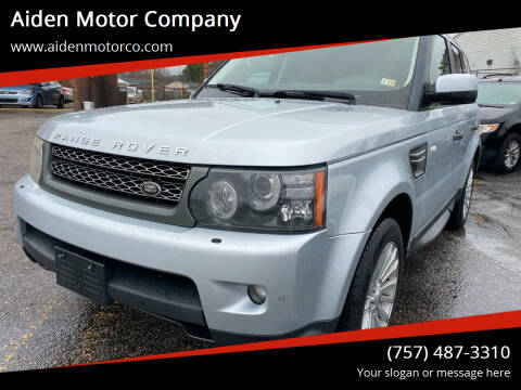 2011 Land Rover Range Rover Sport for sale at Aiden Motor Company in Portsmouth VA