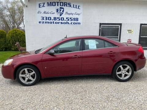 2008 Pontiac G6 for sale at EZ Motors in Deerfield OH