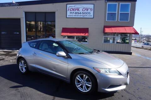 2012 Honda CR-Z for sale at I-Deal Cars LLC in York PA