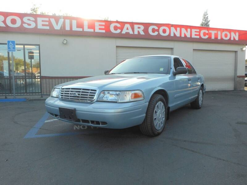 2008 Ford Crown Victoria for sale at ROSEVILLE CAR CONNECTION in Roseville CA