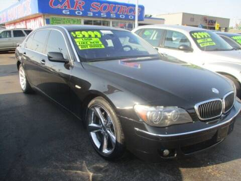 2006 BMW 7 Series for sale at CAR SOURCE OKC in Oklahoma City OK