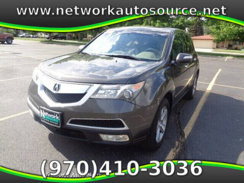 2012 Acura MDX for sale at Network Auto Source in Loveland CO