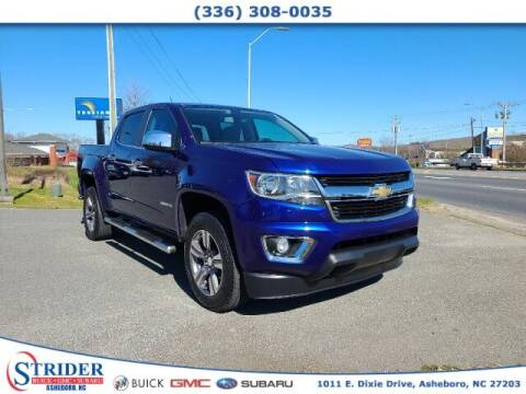 2016 Chevrolet Colorado for sale at STRIDER BUICK GMC SUBARU in Asheboro NC