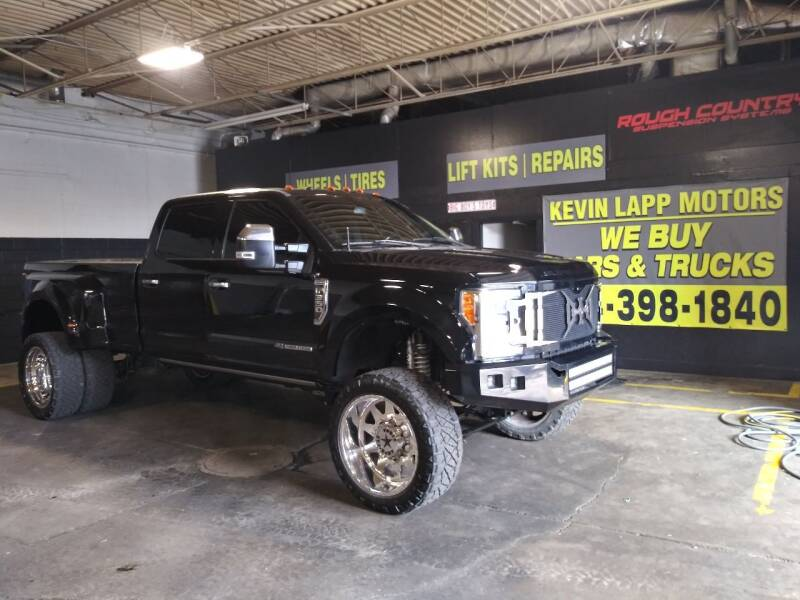 2018 Ford F-350 Super Duty for sale at Kevin Lapp Motors in Plymouth MI