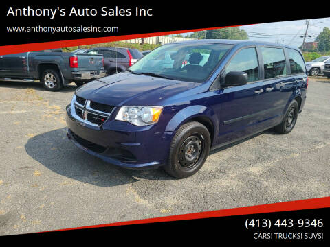 2014 Dodge Grand Caravan for sale at Anthony's Auto Sales Inc in Pittsfield MA