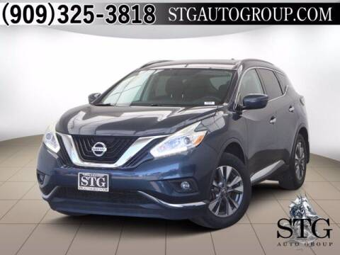 2016 Nissan Murano for sale at STG Auto Group in Montclair CA