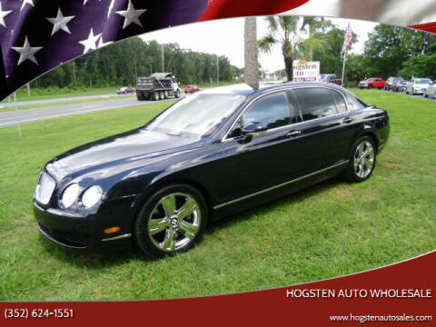 2007 Bentley Continental for sale at HOGSTEN AUTO WHOLESALE in Ocala FL