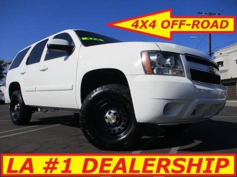 2007 Chevrolet Tahoe for sale at ALL STAR TRUCKS INC in Los Angeles CA