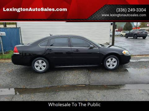 2012 Chevrolet Impala for sale at LexingtonAutoSales.com in Lexington NC
