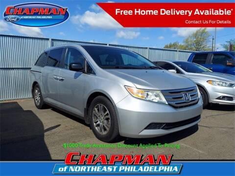 2012 Honda Odyssey for sale at CHAPMAN FORD NORTHEAST PHILADELPHIA in Philadelphia PA