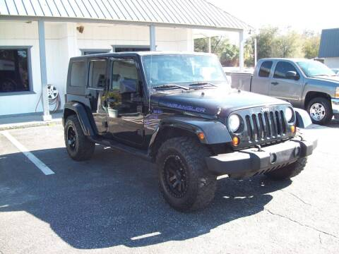 2007 Jeep Wrangler Unlimited for sale at LONGSTREET AUTO in St Augustine FL