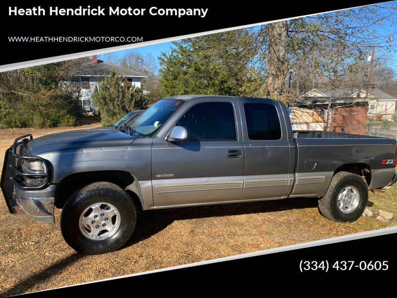 2000 Chevrolet Silverado 1500 for sale at Heath Hendrick Motor Company in Greenville AL
