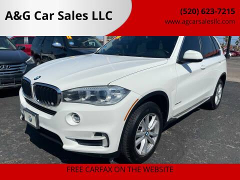 2014 BMW X5 for sale at A&G Car Sales  LLC in Tucson AZ