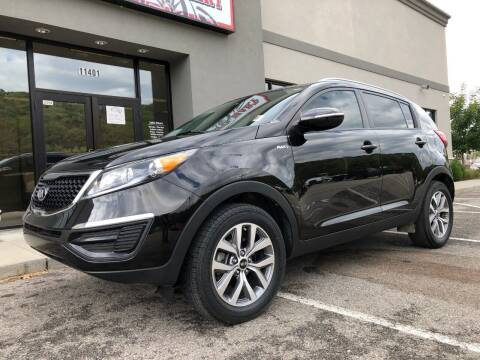 2015 Kia Sportage for sale at ALL AMERICAN AUTO MART in Edwardsville KS