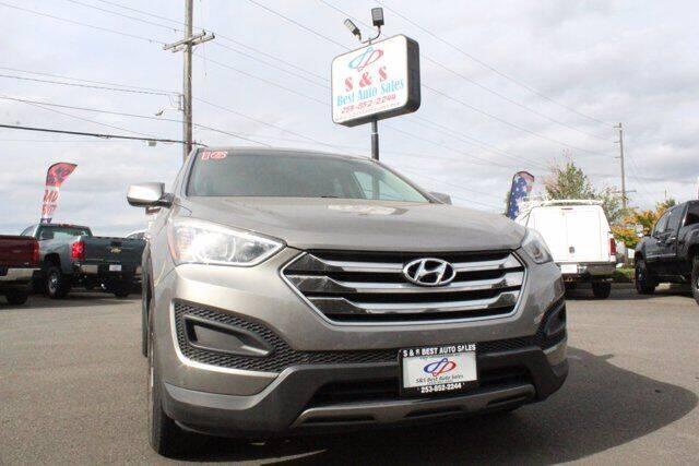 2016 Hyundai Santa Fe Sport for sale at S&S Best Auto Sales LLC in Auburn WA