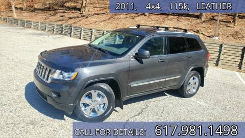 2011 Jeep Grand Cherokee for sale at Wheeler Dealer Inc. in Acton MA