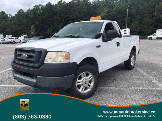 2005 Ford F-150 for sale at M & M AUTO BROKERS INC in Okeechobee FL