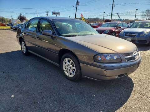 2002 Chevrolet Impala for sale at AFFORDABLE IMPORTS in New Hampton NY