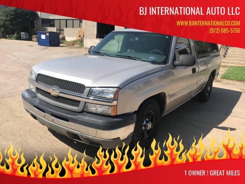 2004 Chevrolet Silverado 1500 for sale at BJ International Auto LLC in Dallas TX