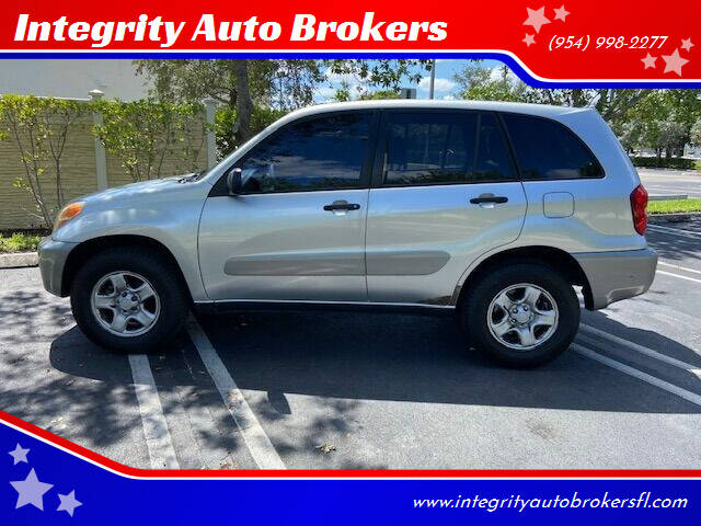2005 Toyota RAV4 for sale at Integrity Auto Brokers in Pompano Beach FL