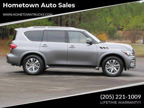 2017 Infiniti QX80 for sale at Hometown Auto Sales - SUVS in Jasper AL