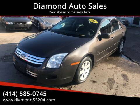 2006 Ford Fusion for sale at Diamond Auto Sales in Milwaukee WI