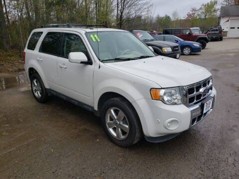 2011 Ford Escape for sale at Winner's Circle Auto Sales in Tilton NH