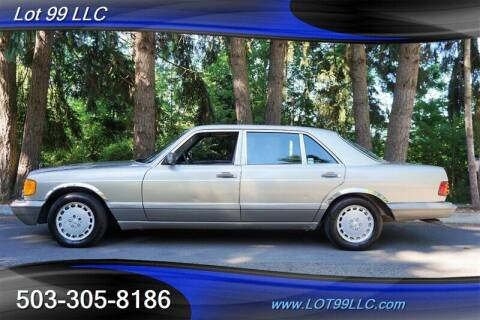 1986 Mercedes-Benz 300-Class for sale at LOT 99 LLC in Milwaukie OR