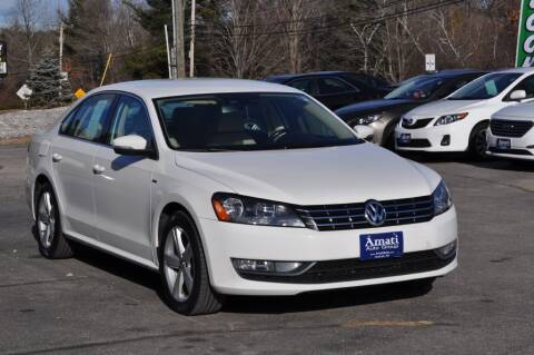 2015 Volkswagen Passat for sale at Amati Auto Group in Hooksett NH